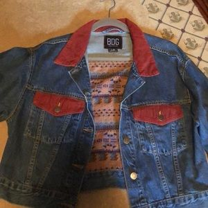 Super cute jean jacket.